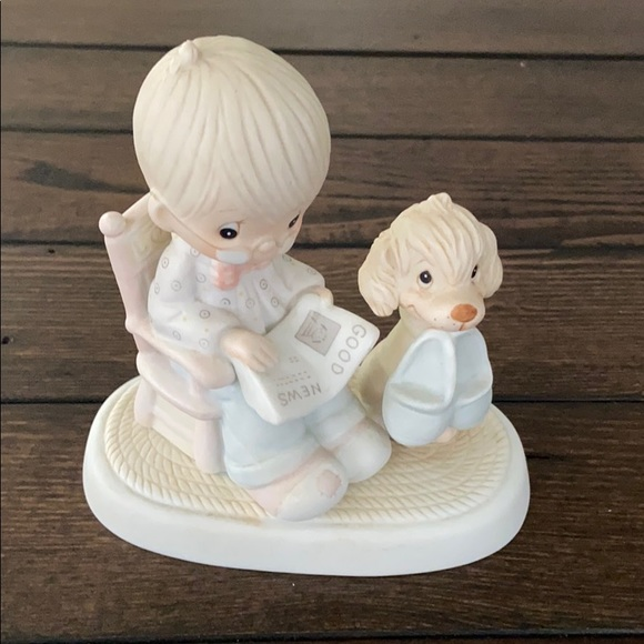 PRECIOUS MOMENTS THE PERFECT GRAMPA Figurine